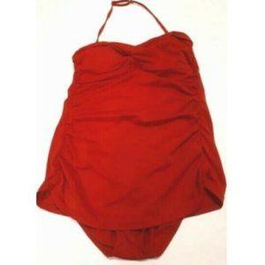 Jantzen Swimwear One Piece color Red Women size 12